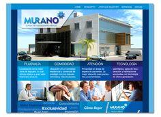 Desarrollo de sitio web para Clínica Murano en Irapuato, México