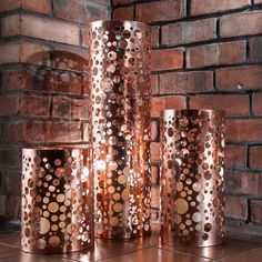 Precious Design Copper Bubbles Home And Garden Lantern