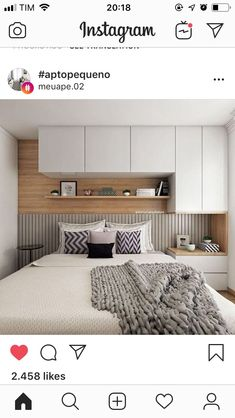 50 wonderful cozy bedroom storage ideas for small space ideas – Artofit Small Room Bedroom, Home Bedroom, Bedroom Decor, Condo Interior, Interior Design Living Room, Bedroom Cupboards, Bedroom Wardrobe, Home Decor Furniture, Furniture Ideas