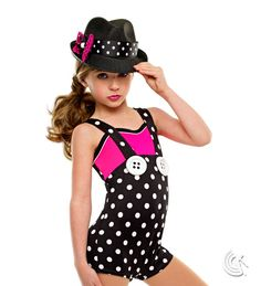 Curtain Call Costumes® - Dance For Joy - 2-in-1 Kids or baby ballet and tap/jazz dance costume