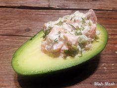 Mish-Mash: Предястие с авокадо и пушена сьомга