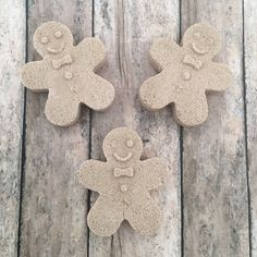 Gingerbread Bath Bomb Gingerbread Man Bath Bombs by ShimmeringSuds #handmade #bathbombs #etsy