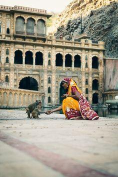 Galtaji, India, by Alex Robertson Photography
