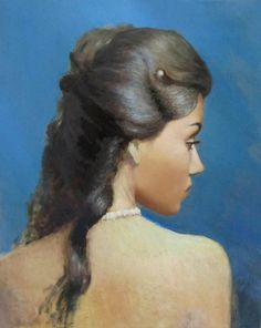 FREE FULL PORTRAIT PAINTING VIDEO BY SERGEY GUSEV, 2015.