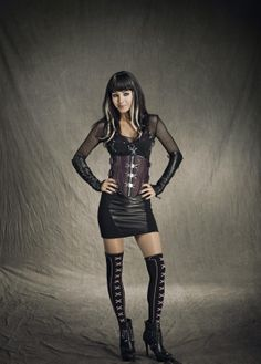 Love the outfits worn by Kenzi played by Ksenia Solo in the TV lost Girl series.  Kenzie rocks!!