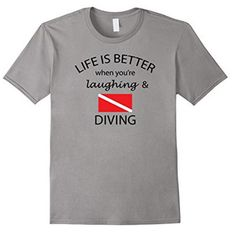 Youth Short Sleeve T-Shirt BEATPRICE Funny Scuba Diving