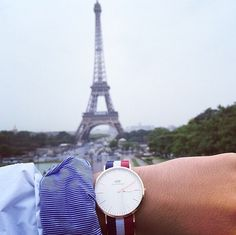 When in Paris. Get yours at www.danielwellington.com.