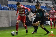 Alen Grgić a Puskás Akadémia otthonában a középpálya jobb oldalán kapott helyet a kezdőcsapatban (OTP Bank Liga 19. forduló: PAFC - DVTK)
