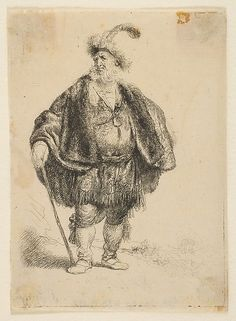 The Persian Rembrandt (Rembrandt van Rijn)  (Dutch, Leiden 1606–1669 Amsterdam) Date: 1632 Medium: Etching Dimensions: plate: 4 5/16 x 3 1/8 in. (11 x 7.9 cm) sheet: 4 7/16 x 3 1/4 in. (11.3 x 8.3 cm) Classification: Prints Credit Line: George Khuner Collection, Bequest of Marianne Khuner, 1984 Accession Number: 1984.1201.70