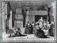The Visit to the lying-in woman ( 1633 )