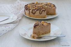 Cheesecake alla nutella e nocciole, senza cottura - Cris e Max in cucina