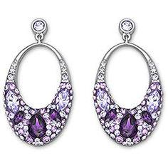 Swarovski Vividness Pierced Earrings ~$125