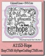 Matching SVG cut files for Close To My Heart Hope Stamp...Colored Lines. http://www.mypapercrafting.com/2014/04/CTMH-Pastel-flower-card.html