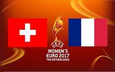 Portail des Frequences des chaines: Switzerland vs France - UEFA Women's Championship