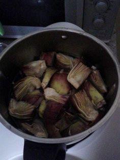 ⇒ Bimby, le nostre Ricette - Bimby, Crema di Carciofi e Tonno