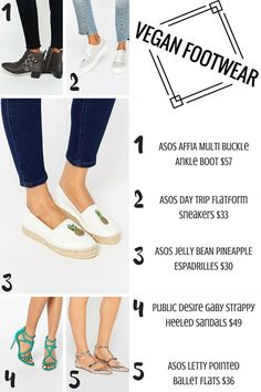 Affordable Vegan Shoes to Sport This Summer!