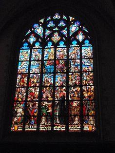 Onze-Lieve-Vrouwekathedraal Antwerpen - Glas in lood