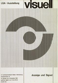 Typographic poster design by Herbert W Kapitzki Graphic Design Layouts, Graphic Design Posters, Graphic Design Typography, Graphic Design Illustration, Graphic Design Inspiration, Daily Inspiration, Photomontage, Cover Design, Bild Gold