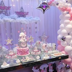 33rd Birthday, Baby Birthday, Birthday Party Themes, Girl Baby Shower Decorations, Kids Party Decorations, Karaoke Party, Chocolate Favors, Disco Party, Girl Cakes