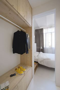 Tyche Apartment - Picture gallery #architecture #interiordesign #wardrobe