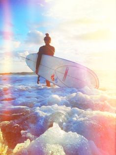 Love the colors in this surf shot