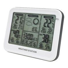 Pokiaľ si potrebujete zaobstarať teplomer, u nás nájdete široký výber teplomerov rôznych druhov a dizajnov. Ak potrebujete zistiť vonkajšiu teplotu tak si vyberte vonkajší teplomer. Na celkový prehľad o aktuálnom počasí odporúčame meteostanice. Digital Alarm Clock, Coding, Weather, Indoor, Home Decor, Interior, Homemade Home Decor, Weather Crafts, Decoration Home