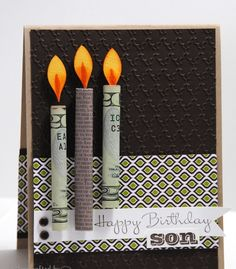 Money candles