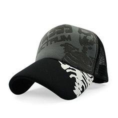 HAMANY Hip-hop Mesh Adjustable Snapback Trucker Baseball Cap b739a18156aa