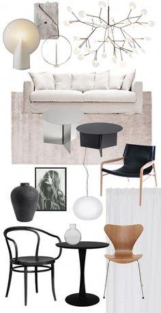 Home Interior Decoration Ideas Mood Board Interior, Interior Design Boards, Interior Design Presentation, Pastel Interior, Furniture Board, French Furniture, Furniture Dolly, Office Interiors, Colorful Interiors