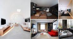 40 Modern living rooms