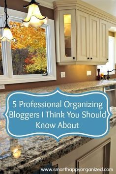 5 Professional Organizing Bloggers I Think You Should Know About if you're looking to get organized in the New Year!