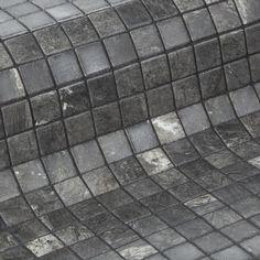 Ezarri Zen Phyllite 2,5*2,5 cm - Kaakelikeskus #kylpyhuone #laatta #kaakeli #sisustusinspiraatio