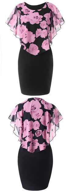 Looking for a Plus Size Dress that'll work for all summer parties,FREE SHIPPING WORLDWIDE!#plussize#dress#blackdress