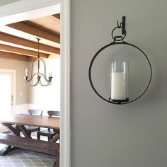 I love the symmetry these wall sconces add to our living / dining room. They were the perfect touch on each side of our cased opening! These sconces are on sale plus an additional 15% off today only (promo code: WMEJULY)! Direct link to purchase here ➡️ http://liketk.it/2oR5bin or go to LIKEtoKNOW.it, sign up, go back to my photo and like it! Then you'll receive an email with links to all the products in my photo! ☺️💕 ⚖ Woo hoo!  #liketkit @liketoknow.it  #discoverworldmarket #wmentry…