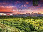 August 2014 - John 16:33 Desktop Calendar-  Free Monthly Calendars Wallpaper