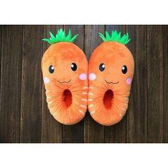 Pantofole carota http://www.scegli-e-compra.com/
