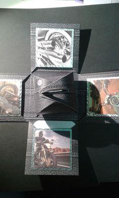 Explosionsbox2 - für Motorradfan mit gewissen WOW von kreativ-was-sonst auf DaWanda.com