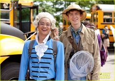 Fun Size 2012 Film: Aaron Burr and E.O Wilson!
