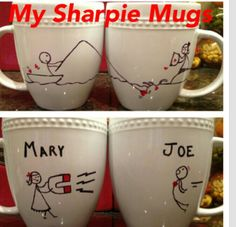 Sharpie mug idea