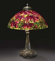 Tiffany Lamps For Sale . Tiffany Studios lamps at Sotheby's New York Century sale, June Victorian Lamps, Antique Lamps, Antique Lighting, Vintage Lamps, Stained Glass Floor Lamp, Stained Glass Chandelier, Leaded Glass, Chandelier For Sale, Lamps For Sale