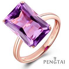 Item Type:Rings Fine or Fashion:Fine Main Stone:Amethyst Rings Type:Wedding…