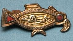 Bird brooch, 7th century, Canterbury Museum