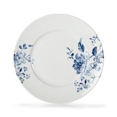 assiette plate en fa ence de lun ville mod le annie d cor oeillet bleu ebay pinterest. Black Bedroom Furniture Sets. Home Design Ideas