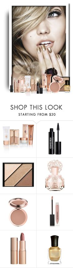 """""""Natural Neutrals Beauty"""" by majezy ❤ liked on Polyvore featuring beauty, Edward Bess, Elizabeth Arden, Vince Camuto, Burberry, Charlotte Tilbury, Deborah Lippmann, Beauty, makeup and beautyset"""