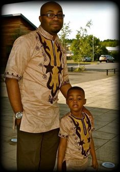 Father And Son Ankara Styles To Rock This Week -Vol 2 - Latest Ankara Styles… African Shirts For Men, African Clothing For Men, African Print Fashion, Africa Fashion, African Print Dresses, African Fashion Dresses, African Dress, Ankara Fashion, African Prints