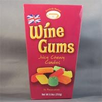 Norfolk Manor Wine Gums Box 250g British Sweets, English Food, Norfolk, Treats, Candy, Snacks, Fruit, Box