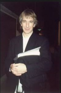 """1991 - Alan Rickman this is most likely from the stage door of """"Tango at the End of Winter"""""""