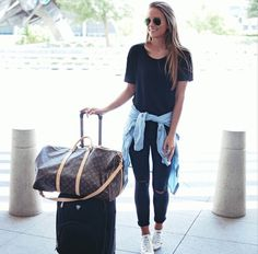 Perfect airport outfit mom hats, airport style, mom style, i love fashion, Spring Summer Fashion, Autumn Winter Fashion, Mode Cool, Look Fashion, Womens Fashion, Diva Fashion, Fashion Black, Petite Fashion, Airport Style