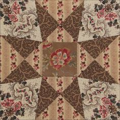 Civil War Quilts: Threads of Memory 12: Rochester Star for Amy Post & Harriet Jacobs