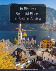 A picture based post showing you some of the many beautiful places to visit in Austria. Including cities, landscapes, mountains and lakes. Read this post for lots of inspiration on where to go in #Austria.    #travel #europe